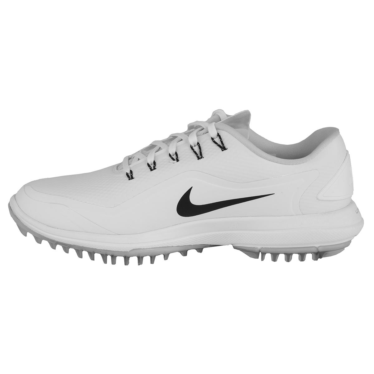 973c5429127f Nike Men s Lunar Control Vapor 2 Golf Shoes White Black 10.5 W