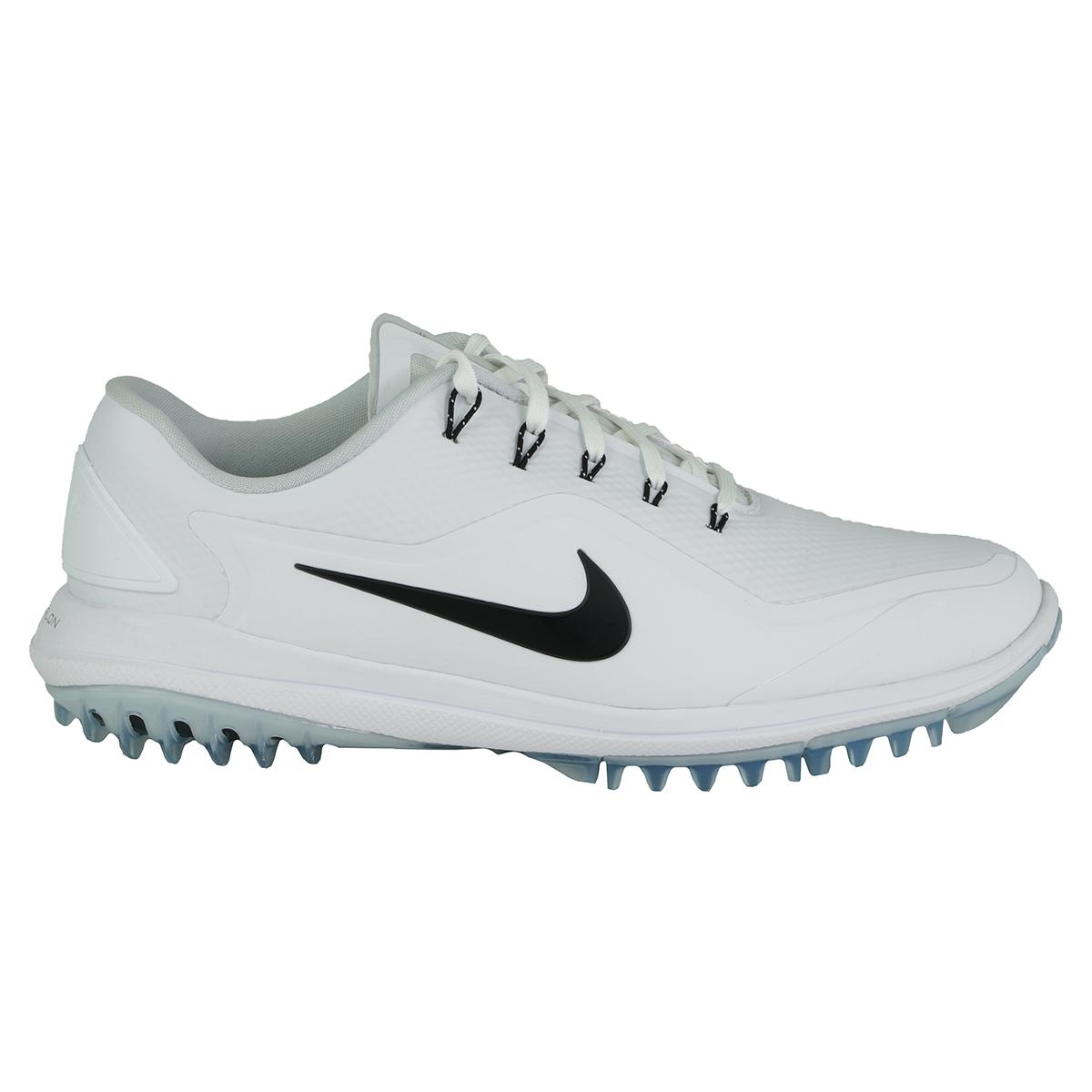 promo code 12f5d 0160e Details about Nike Men s Lunar Control Vapor 2 Golf Shoes White Black 10.5 W