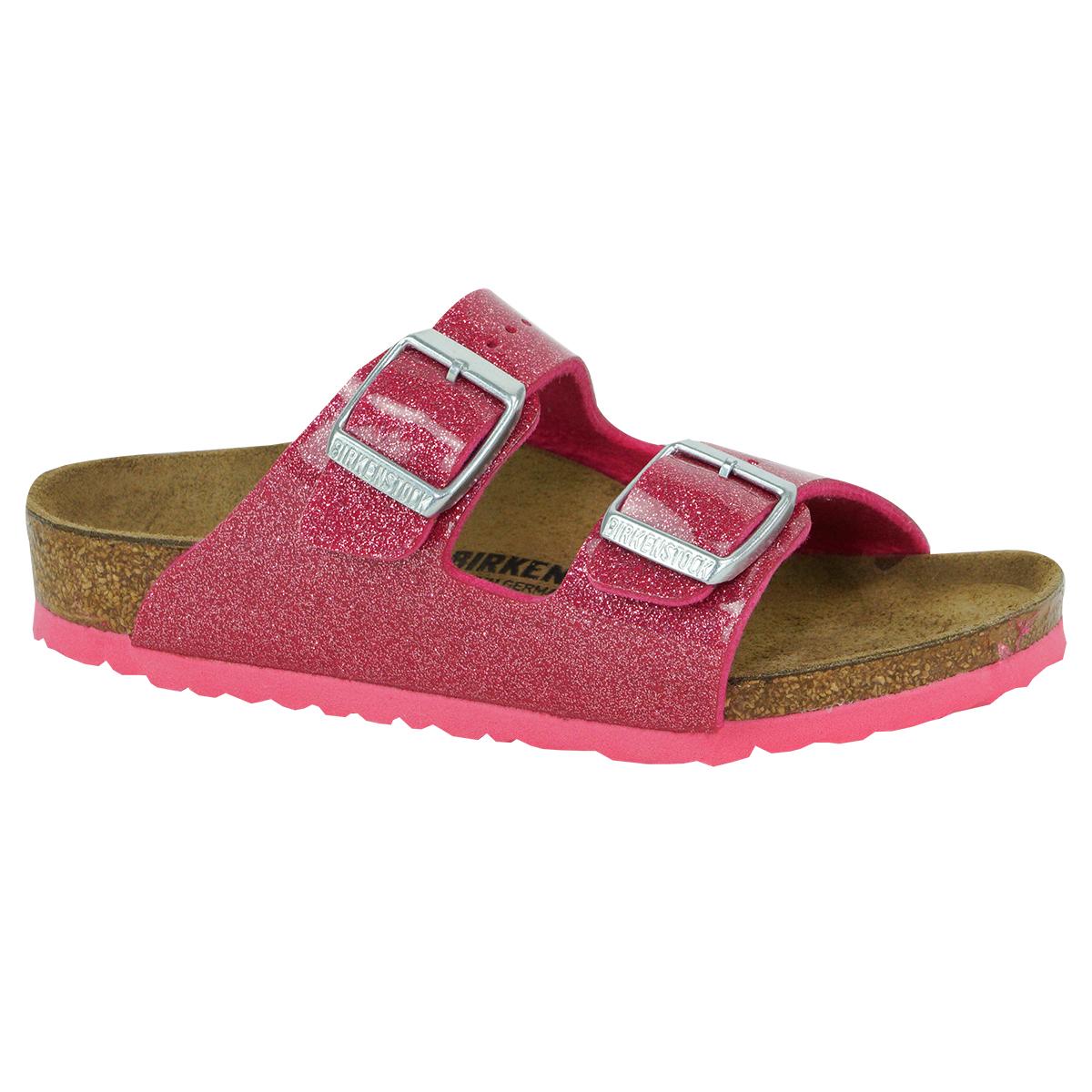 Details about Birkenstock Kids' Arizona Sandals Birko Flor Magic Galaxy Bright Rose 27 N