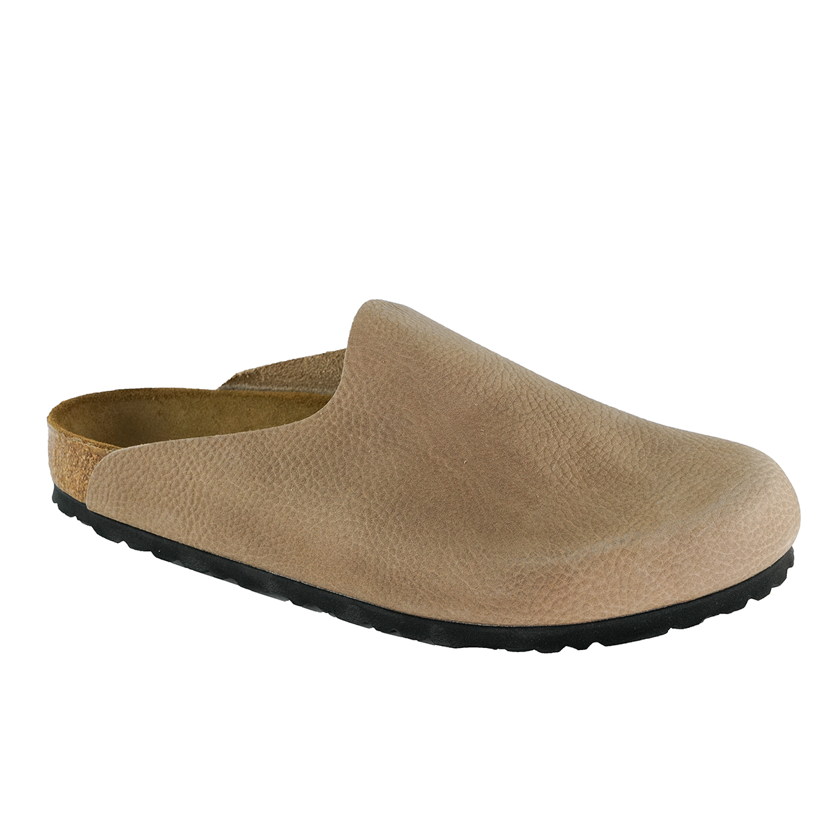 Details about Birkenstock Amsterdam Leather Clogs Steer Taupe 35 N