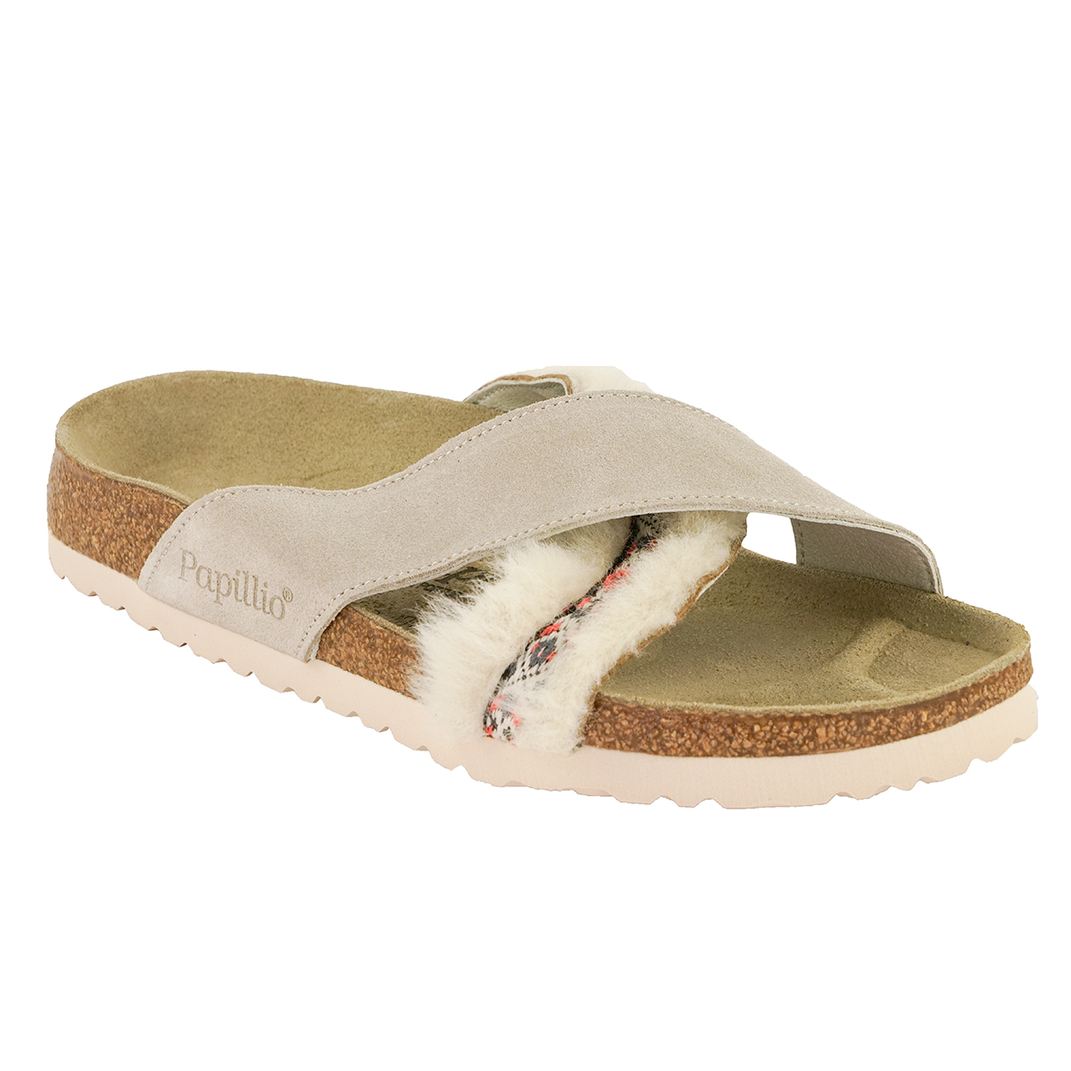 Birkenstock-Papillio-Daytona-Suede-Leather-Fur-Sandals