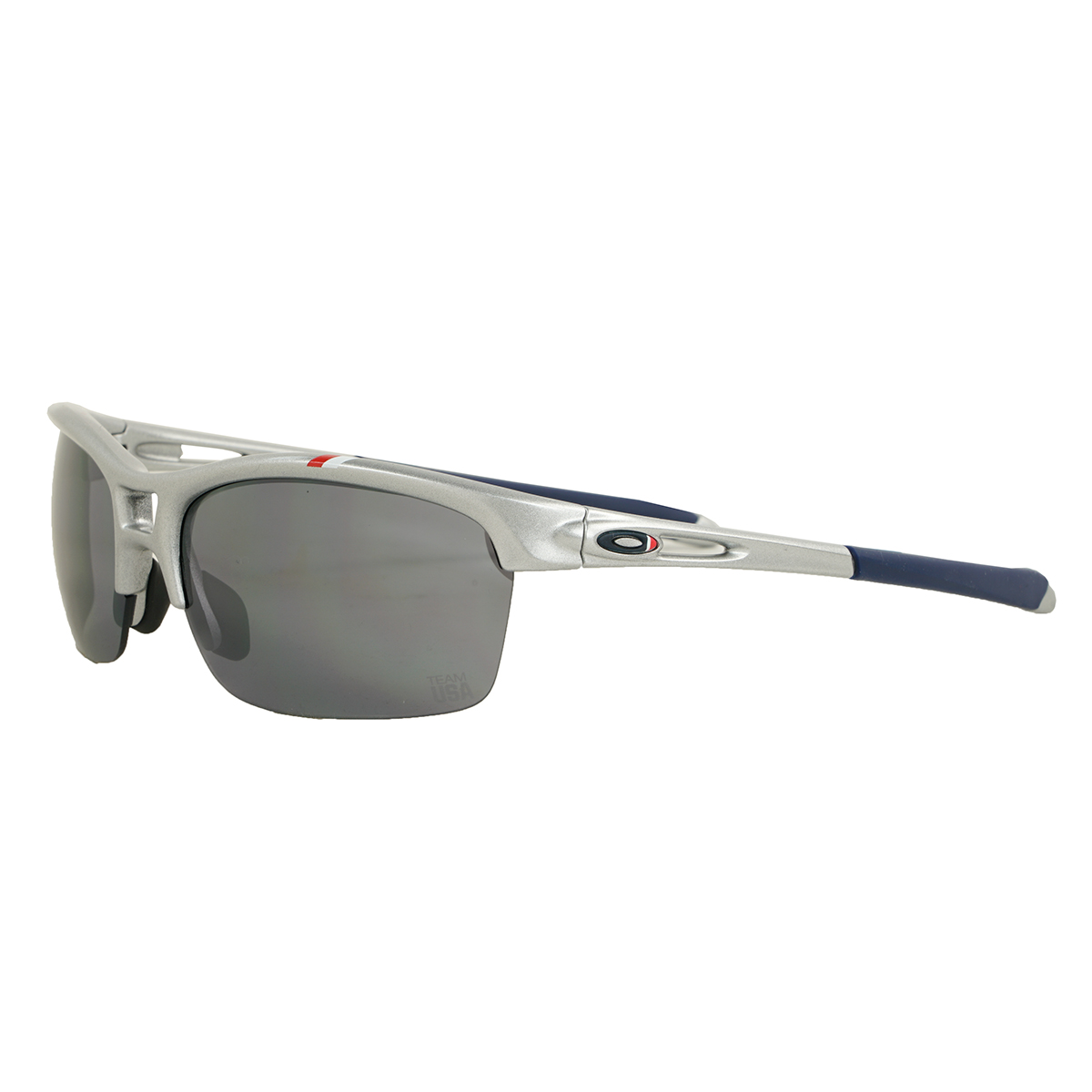 a6c43f1467d Details about Oakley Team USA RPM Squared Sunglasses Silver Black Iridium