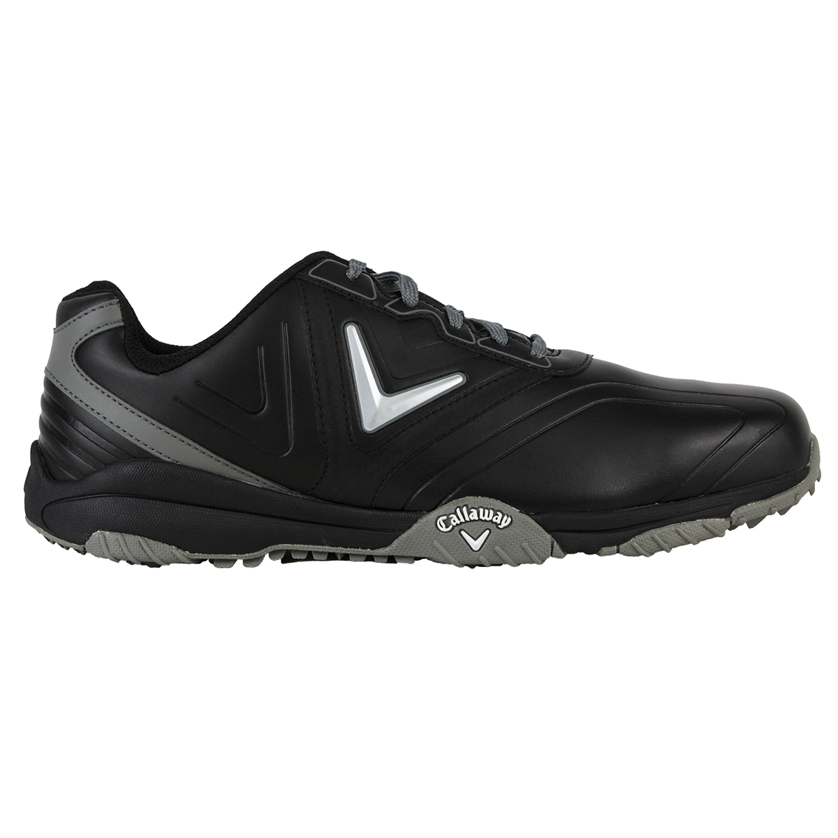 7e906cbfca3 Callaway Chev Comfort Golf Shoes Black silver 13