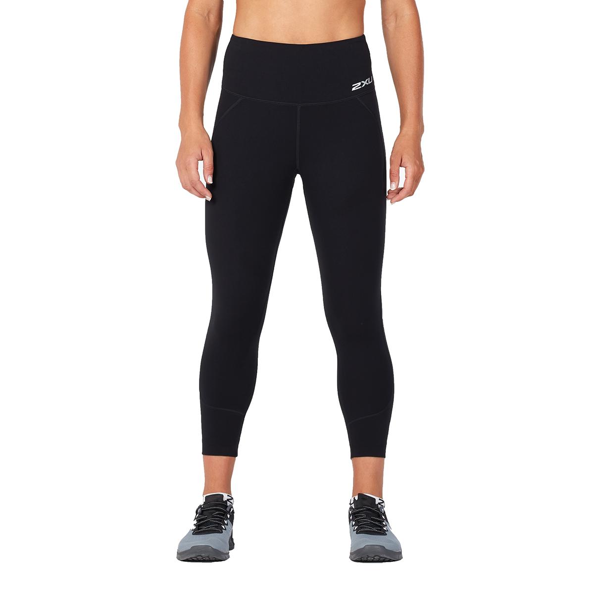 d69e9484e8 Details about 2XU Women's Fitness Hi-Rise 7/8 Compression Tights Black/Black  XL