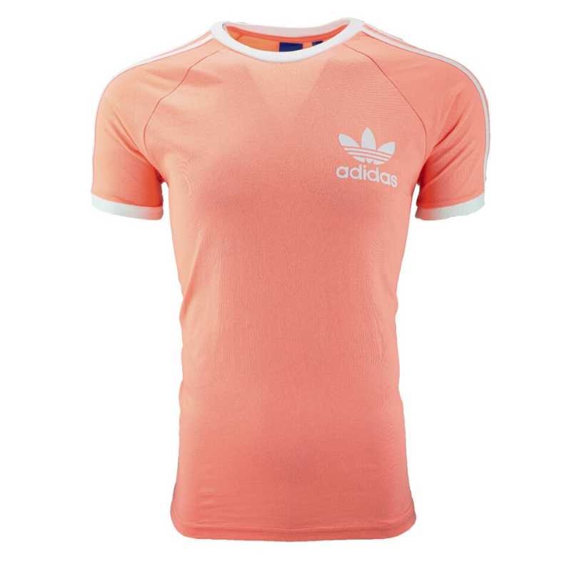 adidas originals california t shirt orange