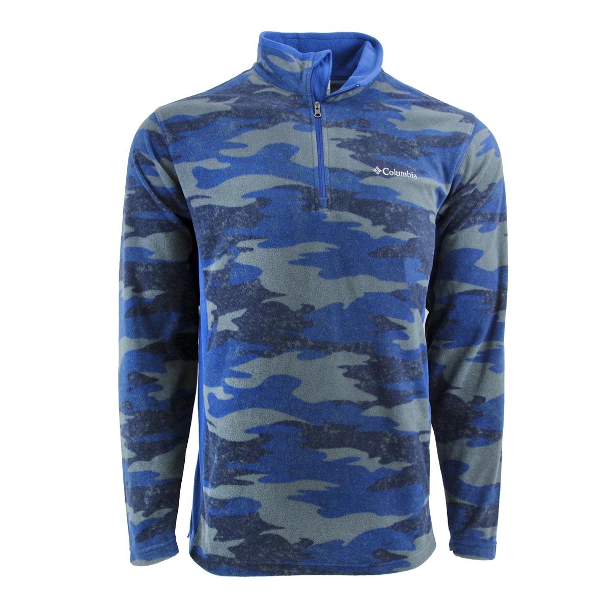 Columbia-Men-039-s-Pine-Ridge-Half-Zip-Fleece