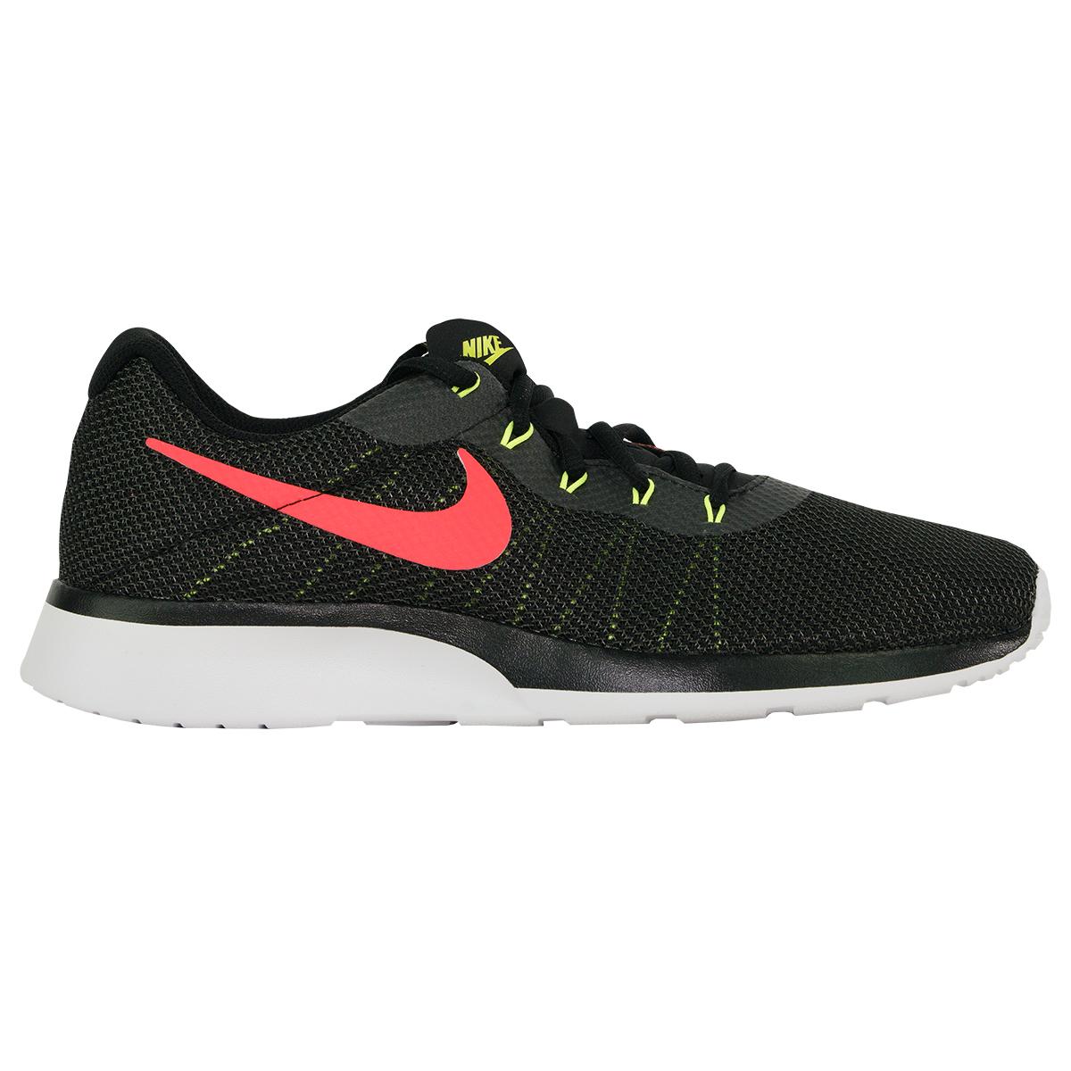 Details about Nike Men's Tanjun Racer Running Shoes BlackSolar RedAnthracite 7