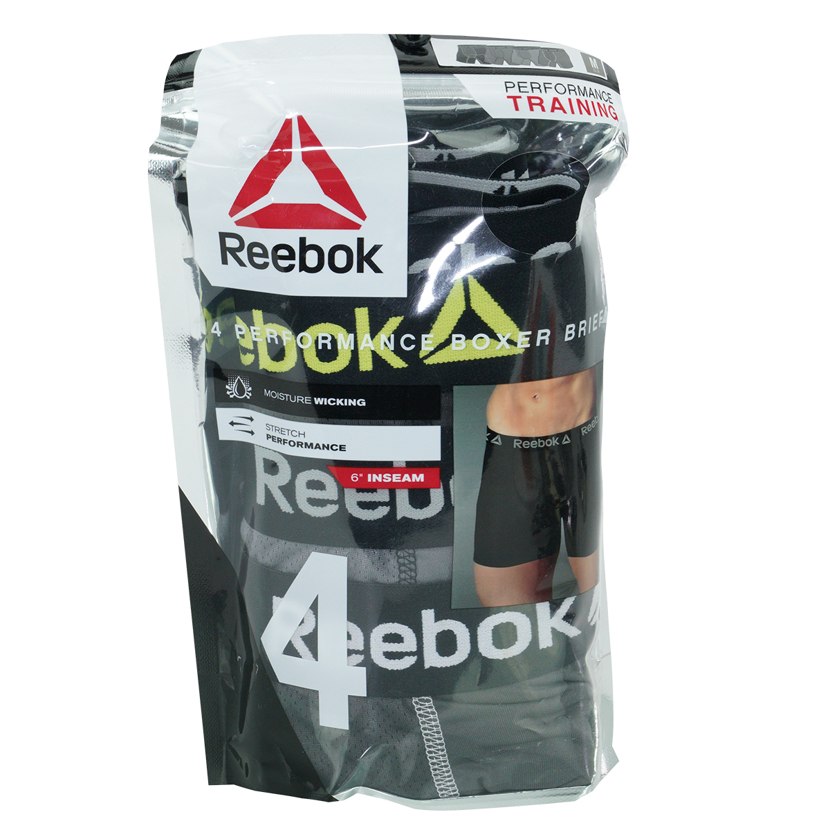 Reebok-Men-039-s-Performance-Boxer-Briefs-4-Pack thumbnail 11