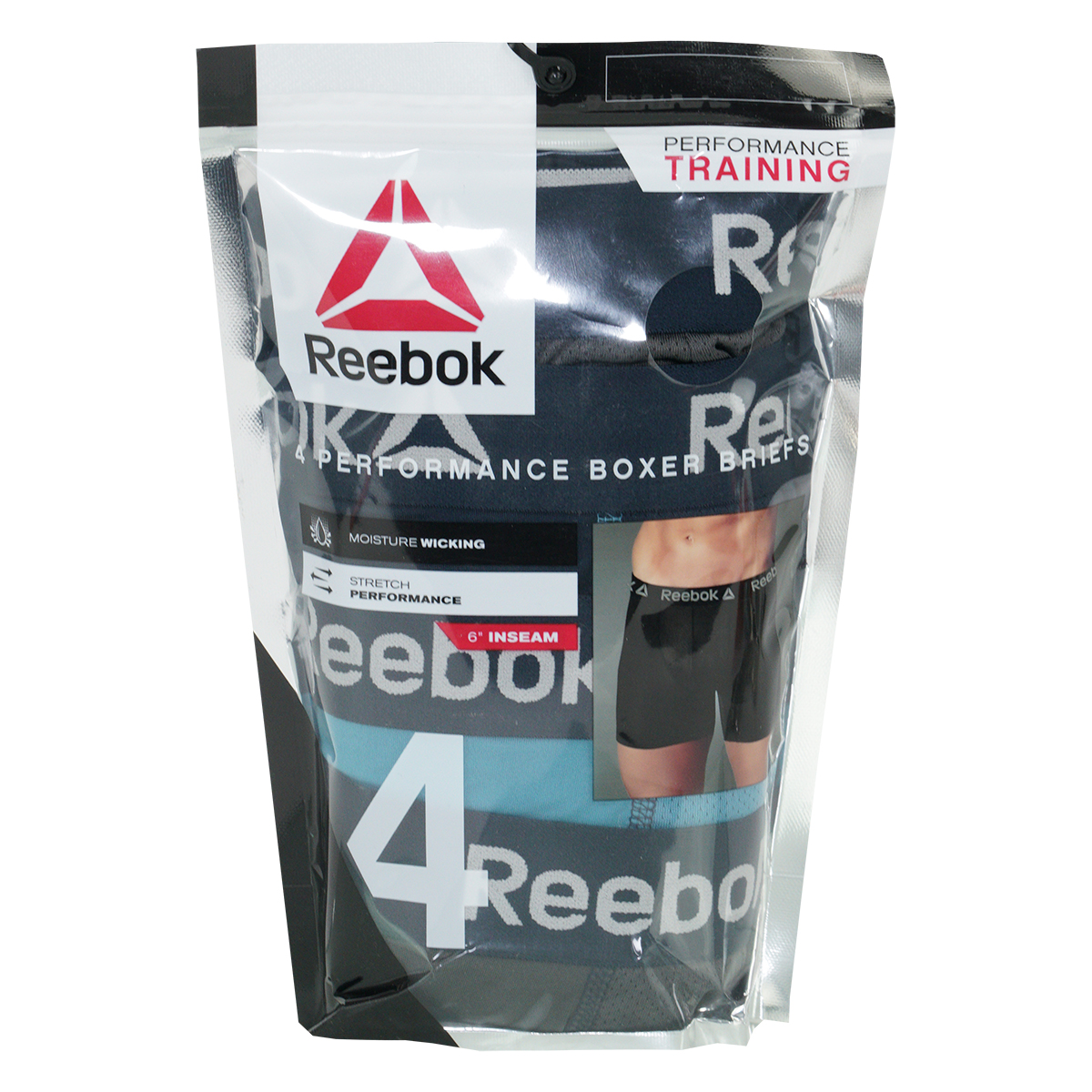 Reebok-Men-039-s-Performance-Boxer-Briefs-4-Pack thumbnail 19