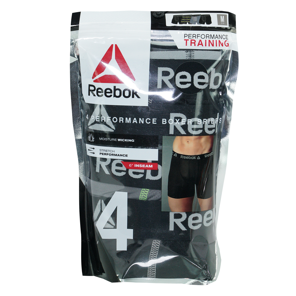 Reebok-Men-039-s-Performance-Boxer-Briefs-4-Pack thumbnail 13