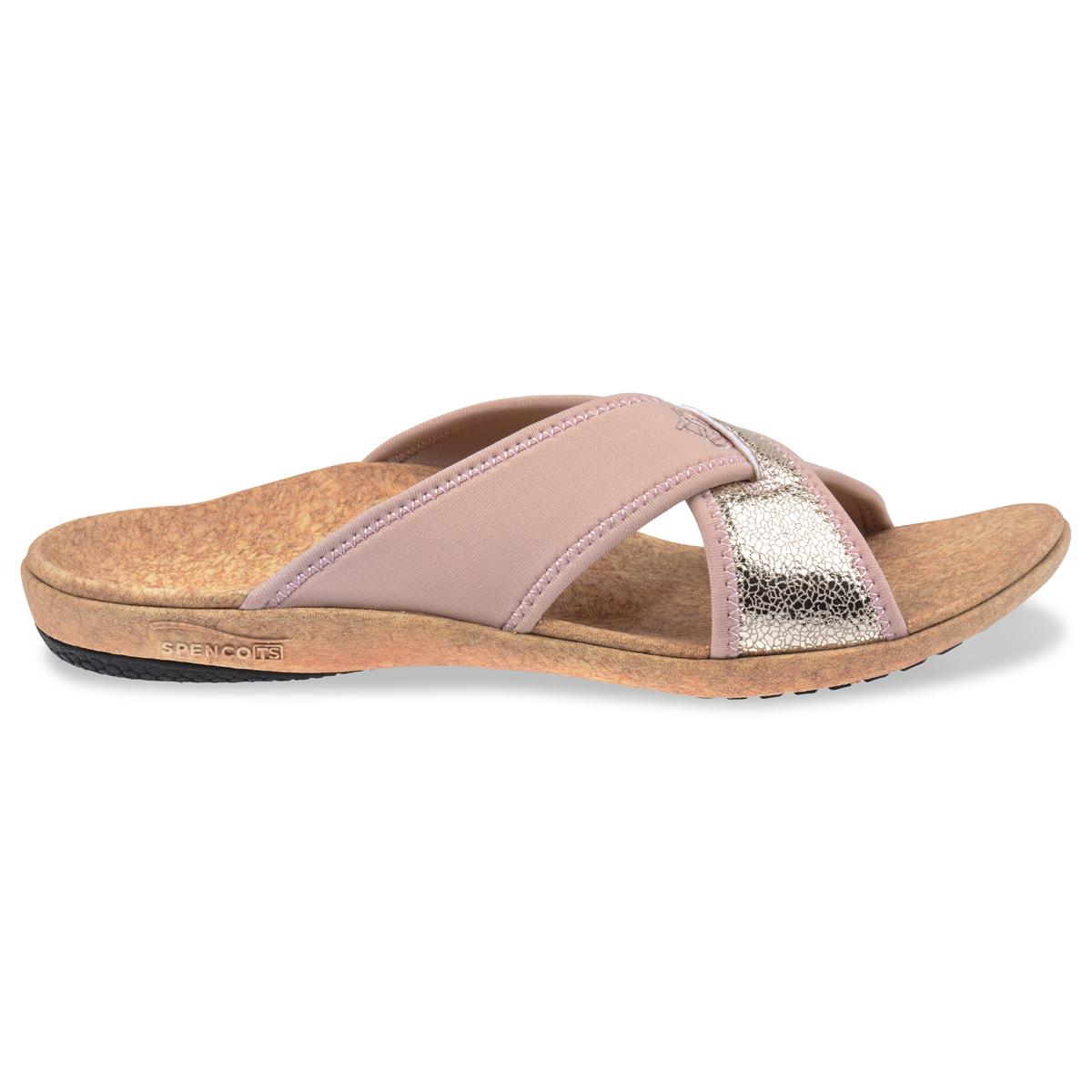 e89c663c171e6 Spenco Women s Lingo Slide Sandal Rose 6 US