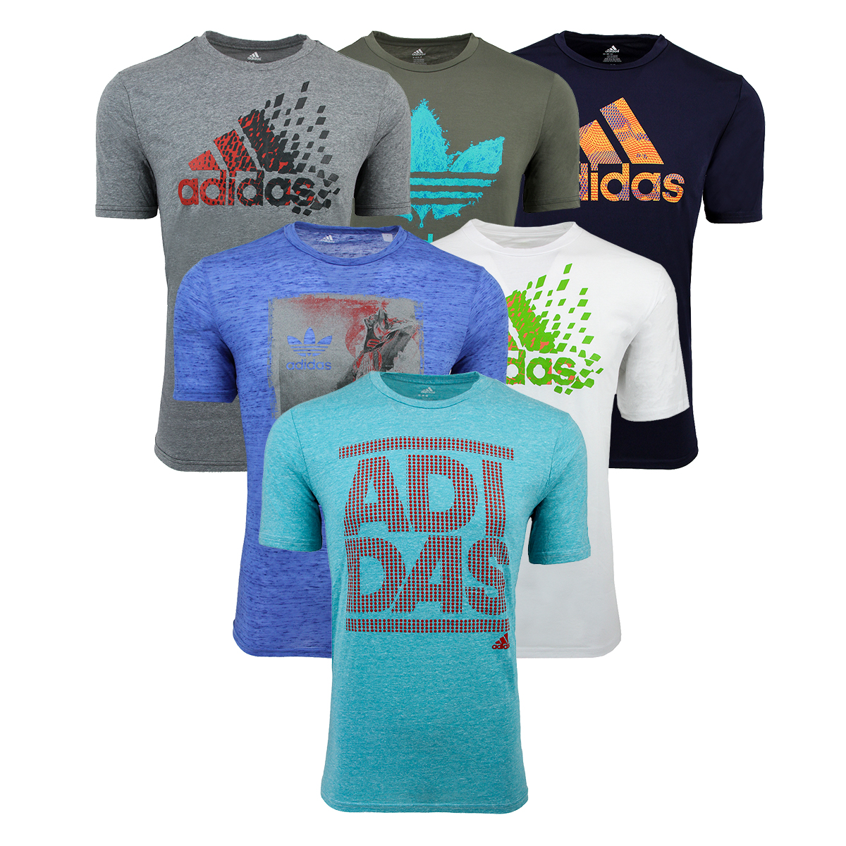 48072698 Details about adidas Men's Mystery Graphic T-Shirts