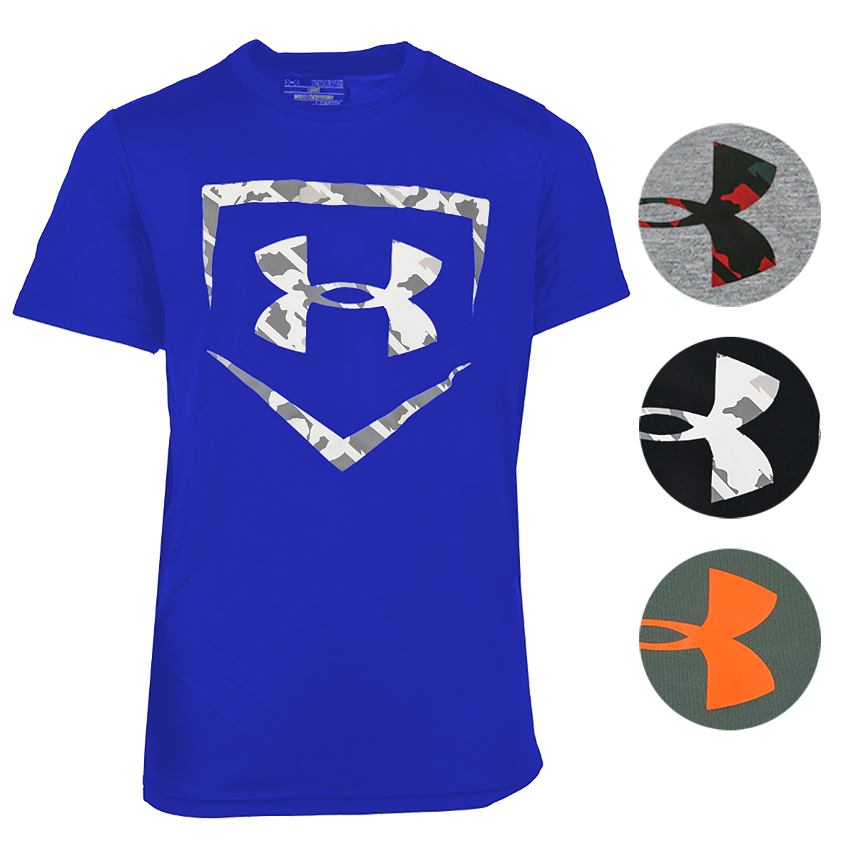 97703684a Details about Under Armour Boys' UA Tech Home Plate Short Sleeve T-Shirt