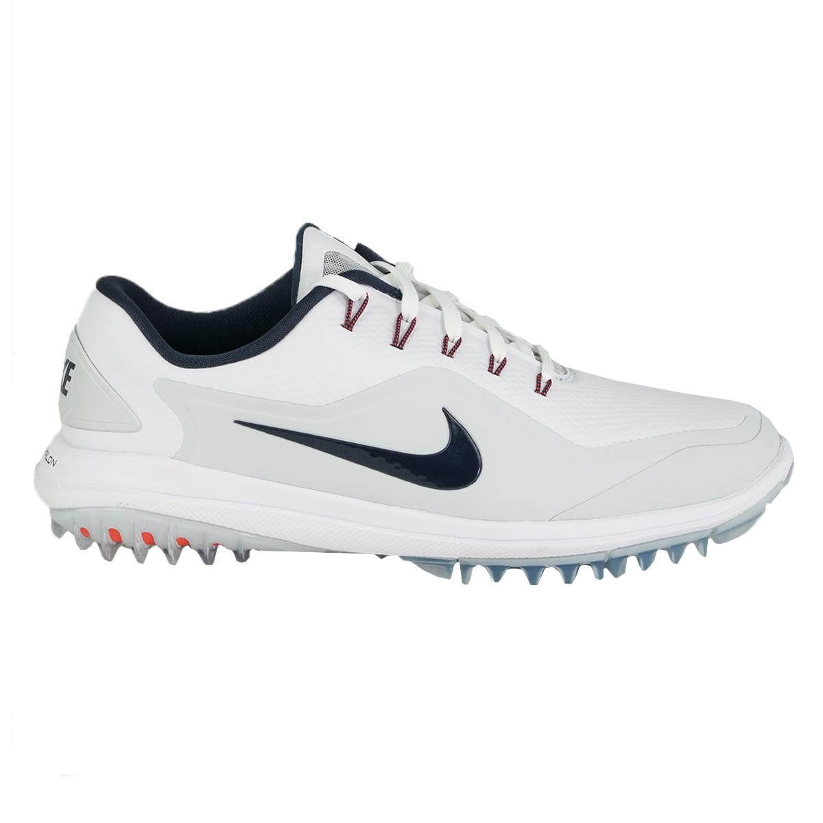 00955061f70f Details about Nike Men s Lunar Control Vapor 2 Golf Shoes White Thunder  Blue 9 W