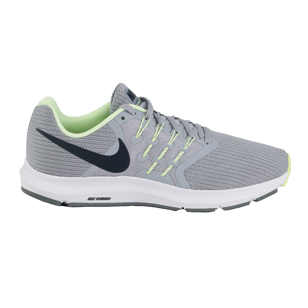 Nike Run Swift Wolf Grey Green Men Running Shoes Sneakers Trainers 6a08627db
