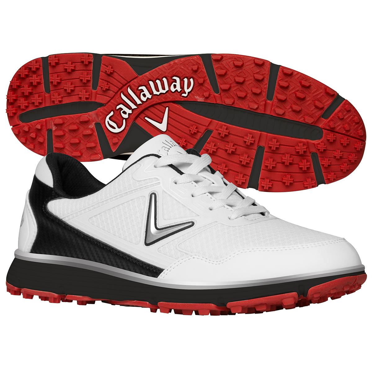 57d2b193f86d3 Callaway Men's Balboa Vent Golf Shoes White/Black 12 W 889993068415 ...