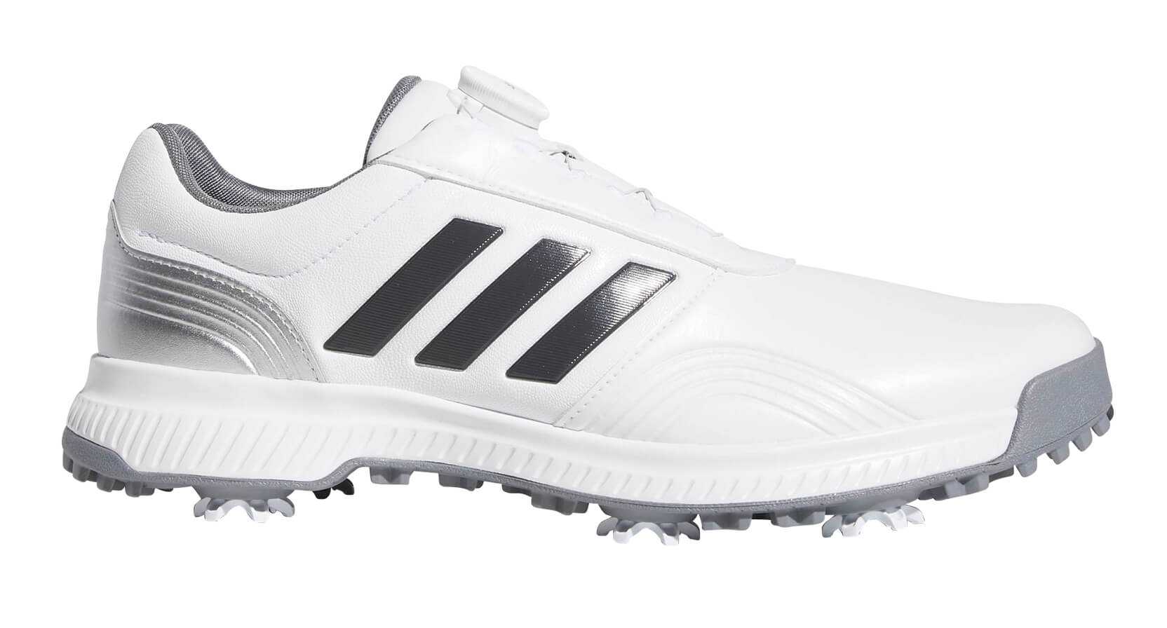c7cc637b013 Details about Adidas CP Traxion BOA Golf Shoes White Silver 2019 Men s New  - Choose Size