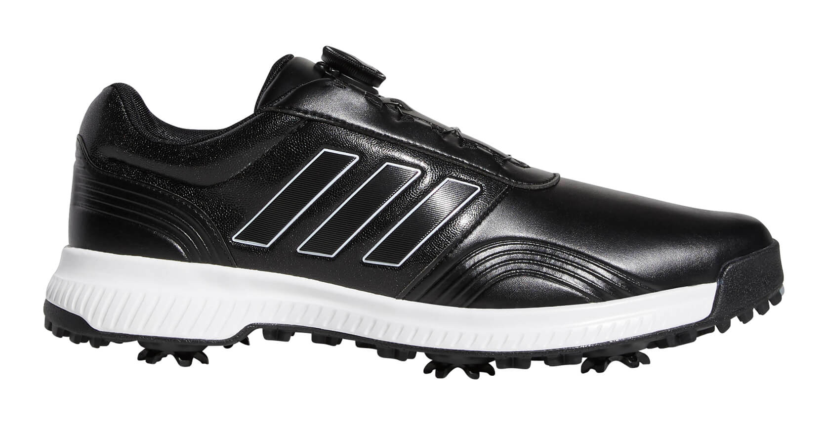 c0cf3ab4b9a Details about Adidas CP Traxion BOA Golf Shoes Black White 2019 Men s New -  Choose Size