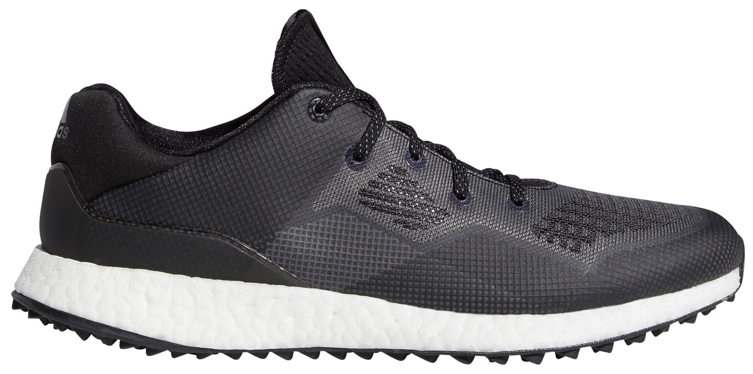 Adidas Crossknit DPR Golf Shoes EE9130 Black/White Spikeless New ...