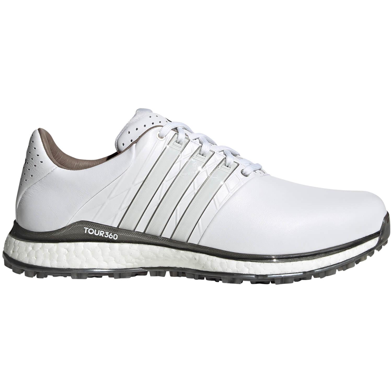 Adidas Tour 360 XT-SL 2 Spikeless Golf Shoes EG4872 White/Silver ...