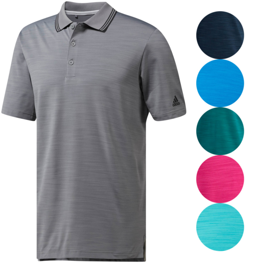 Adidas-Ultimate365-Heather-Polo-Men-039-s-Golf-Shirt-2018-Closeout-New-Choose-Color