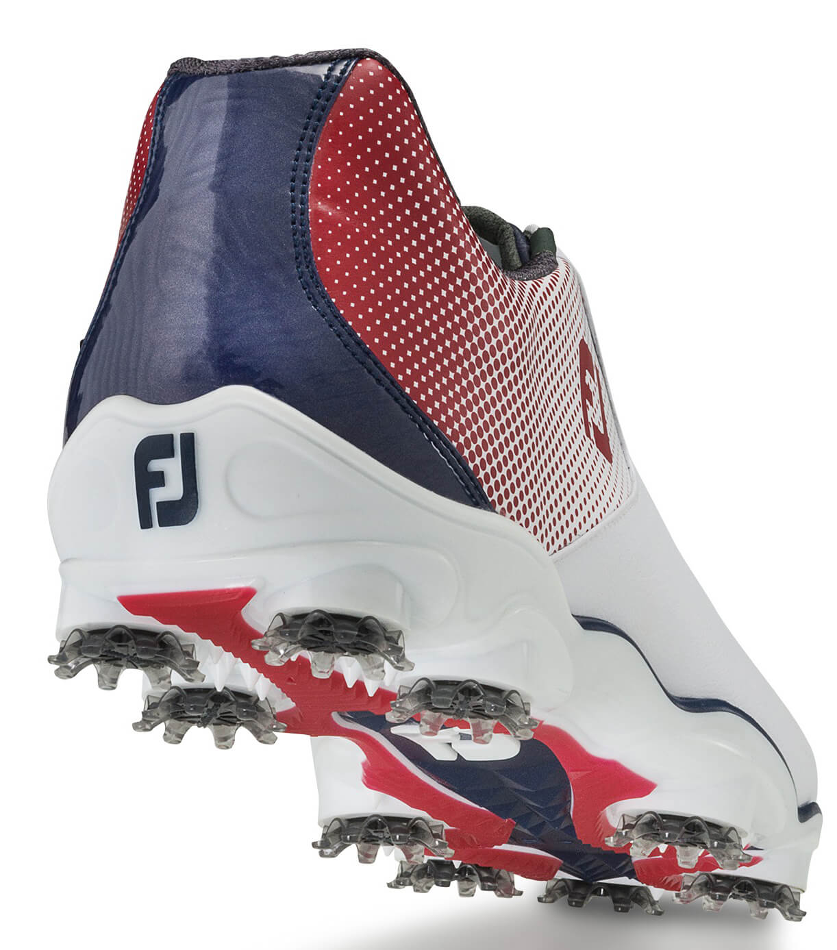 FootJoy-DNA-Helix-Golf-Shoes-Leather-Waterproof-Men-039-s-New-Choose-Color-amp-Size thumbnail 3