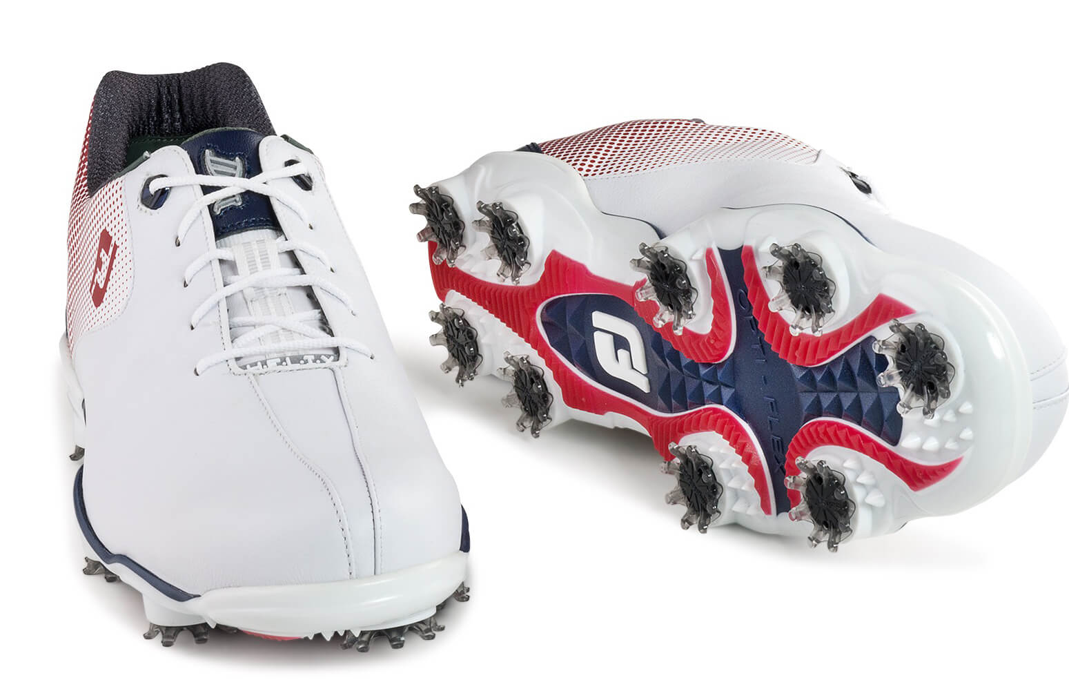 FootJoy-DNA-Helix-Golf-Shoes-Leather-Waterproof-Men-039-s-New-Choose-Color-amp-Size thumbnail 5
