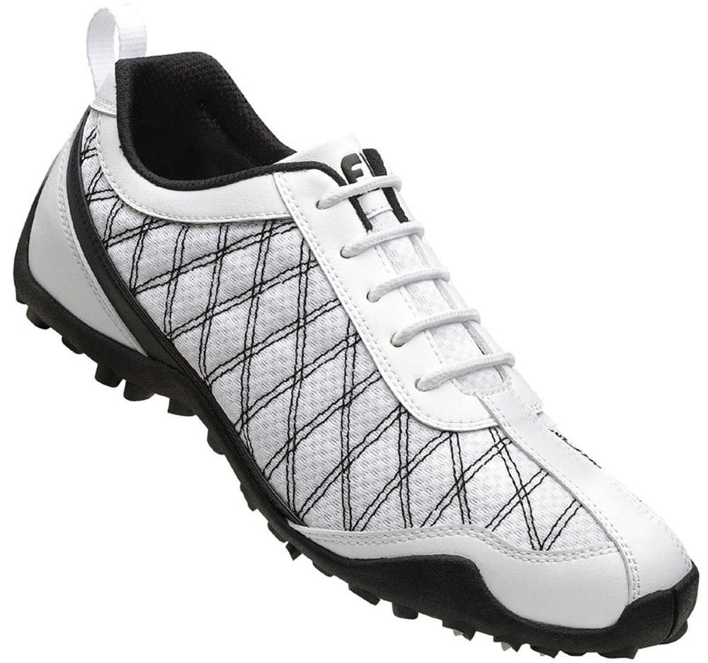 Details about FootJoy Ladies Summer Series Golf Shoes 98951 WhiteBlack Closeout Womens New