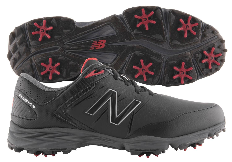 f82537c5edcd Details about New Balance Striker Golf Shoes NBG2005BRD Black Red Men s  2018 New