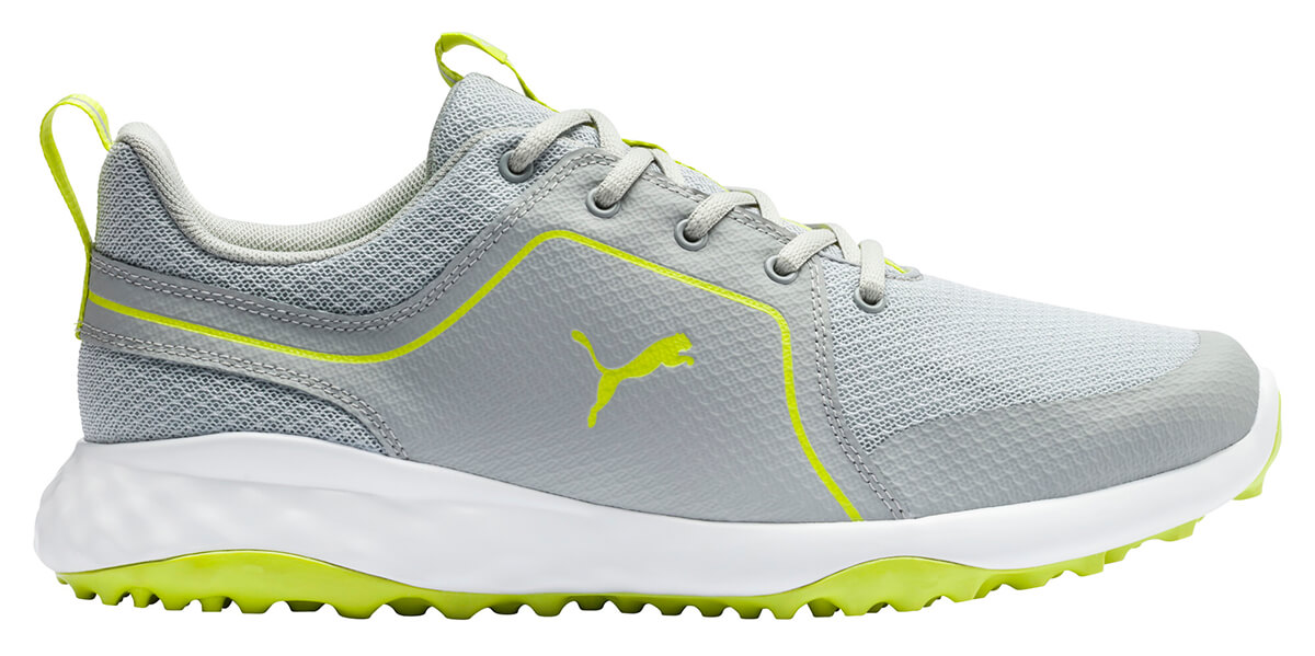Puma Grip Fusion Sport 2 0 Golf Shoes 193466 04 High Rise Lime Punch Men S New Ebay
