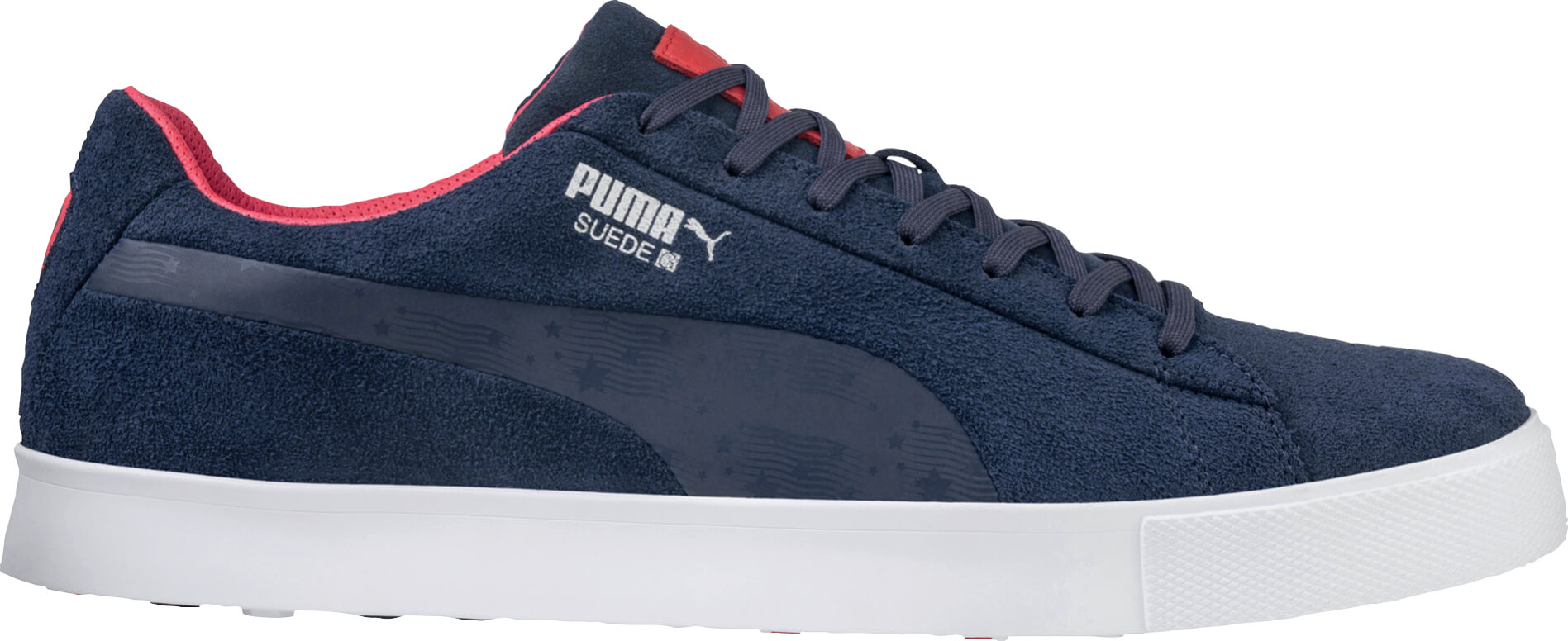 3cd70012fe19 Details about Puma Suede G Golf Shoes 191208-01 Peacoat Navy Team USA Men s  New - Choose Size!