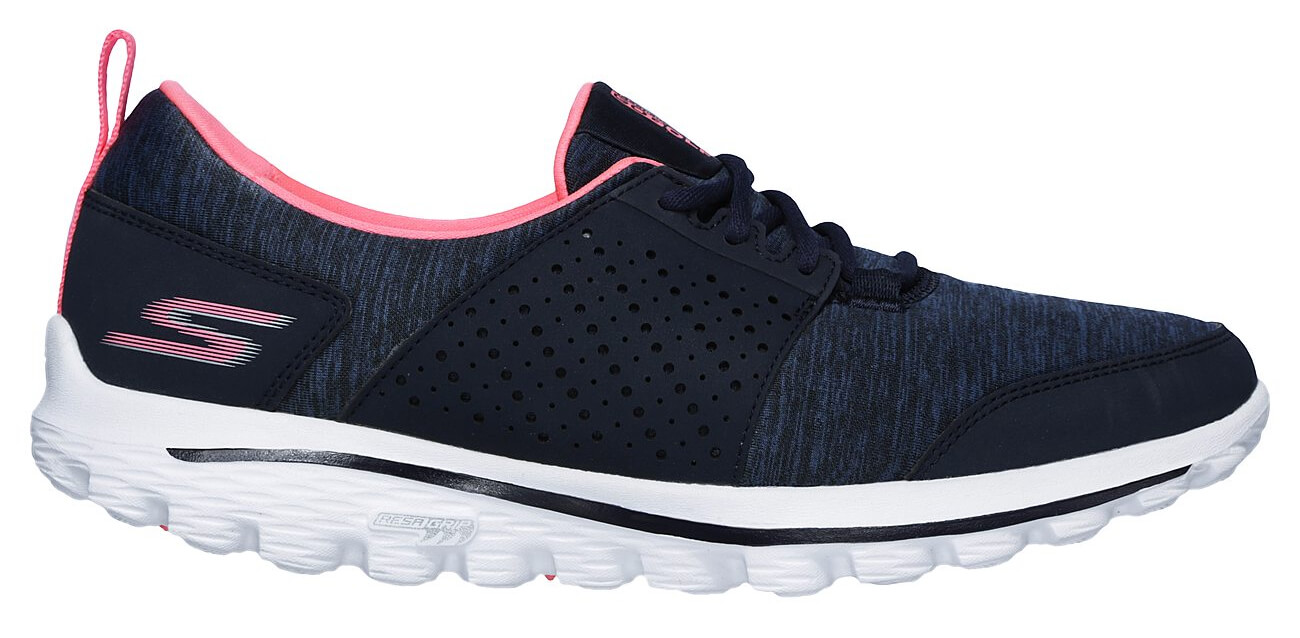 Details about Skechers Womens GO Walk 2 Relaxed Fit Sugar Golf Shoes 14880 NVPK NavyPink New