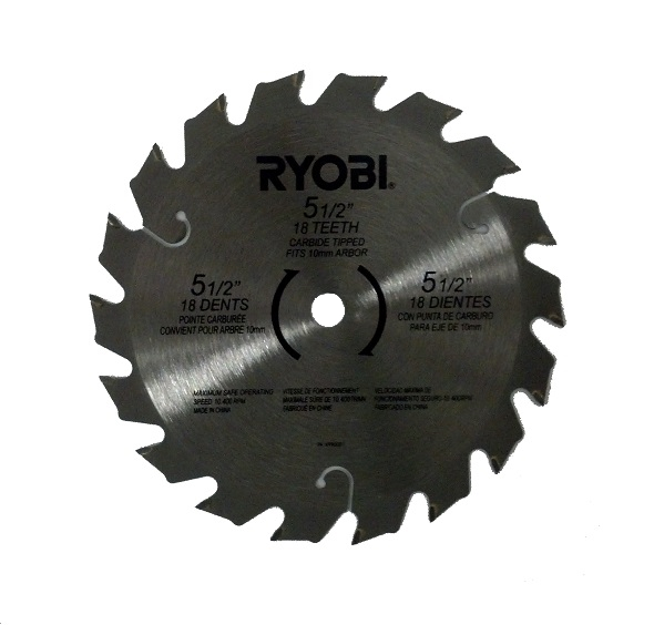 Ryobi 18v 18 volt p500 p501 p501g 5 12 carbide tipped circular saw ryobi 18v 18 volt p500 p501 p501g 5 12 carbide tipped circular saw blade new greentooth Image collections