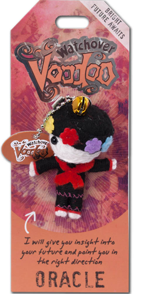 """Watchover Voodoo Doll Festival Goer    3/"""" New Lucky Charm"""