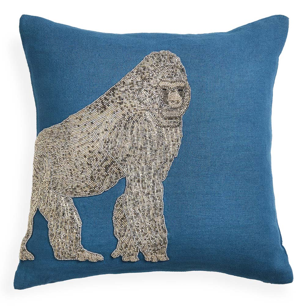 Throw Pillows Justice : Jonathan Adler - Throw Pillow - Zoology Gorilla eBay