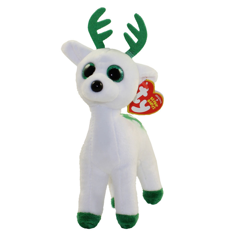 Details about Ty Inc - Beanie Babies - Peppermint the Reindeer - 6