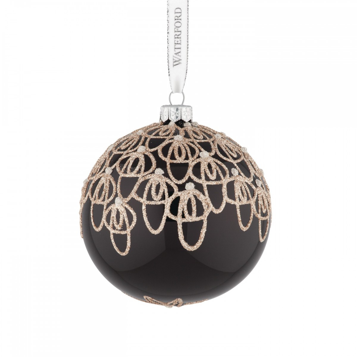 Waterford - 2015 Holiday Heirlooms Black Tie Ball Ornament ...
