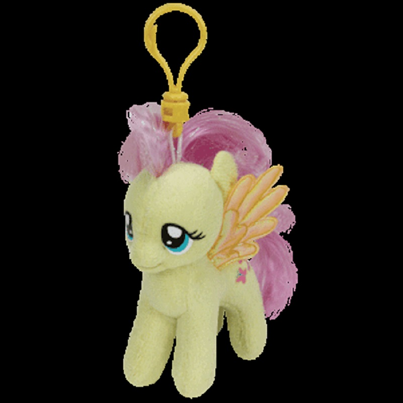 Details about Ty Inc. - Beanie Boo - Bag Key Clip - My Little Pony -  Fluttershy 27bbea78fb40