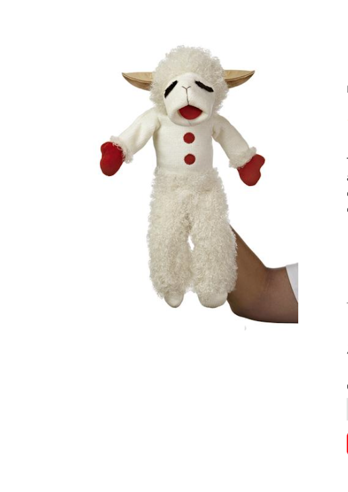 Aurora Lamb Chop Talking Puppet 17 Ebay