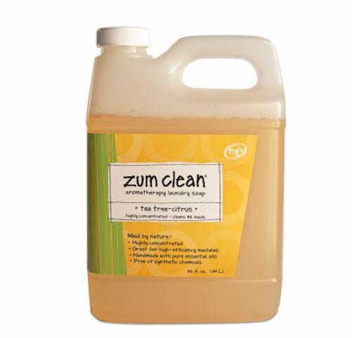 Indigo Wild Zum Clean Laundry Soap Detergent Tea Tree