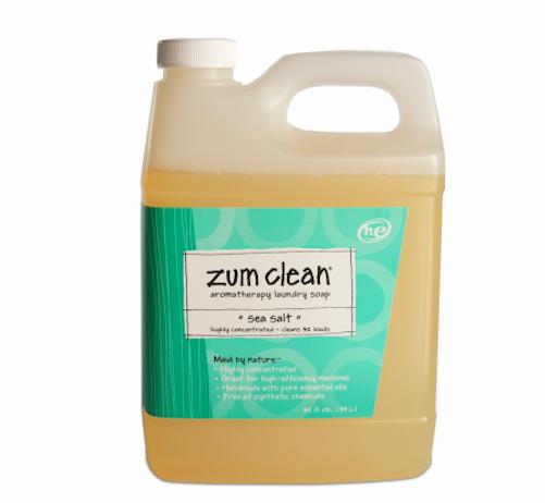 Indigo Wild Zum Clean Laundry Soap Detergent Sea Salt 32oz