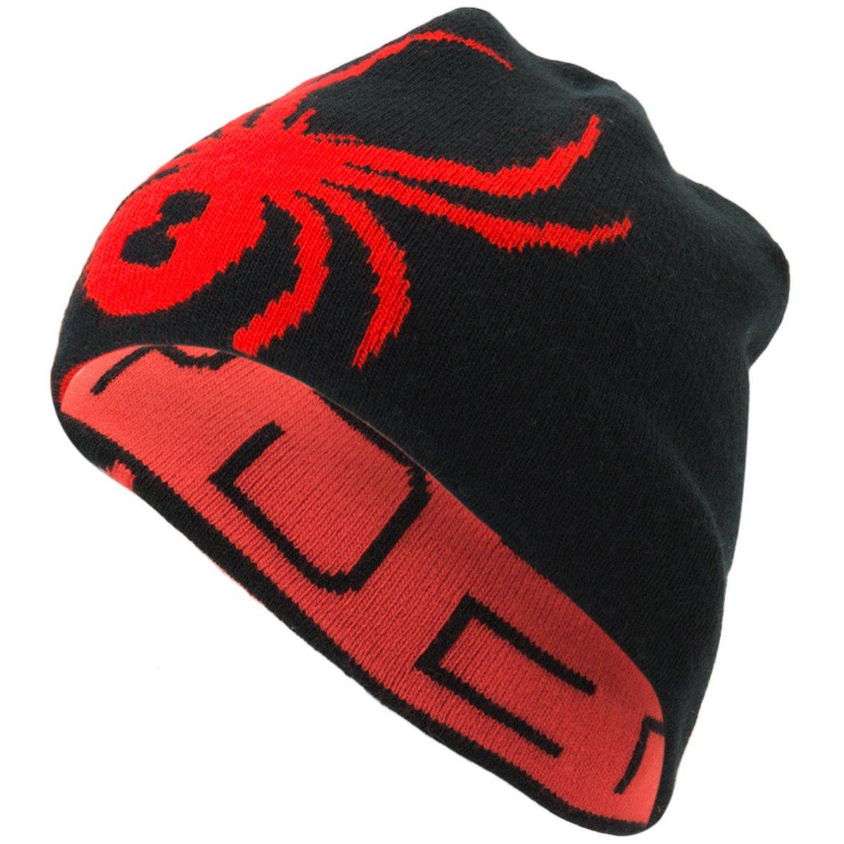 Details about Spyder REVERSIBLE INNSBRUCK Men s Ski Hat - black - One Size 9db61583e57