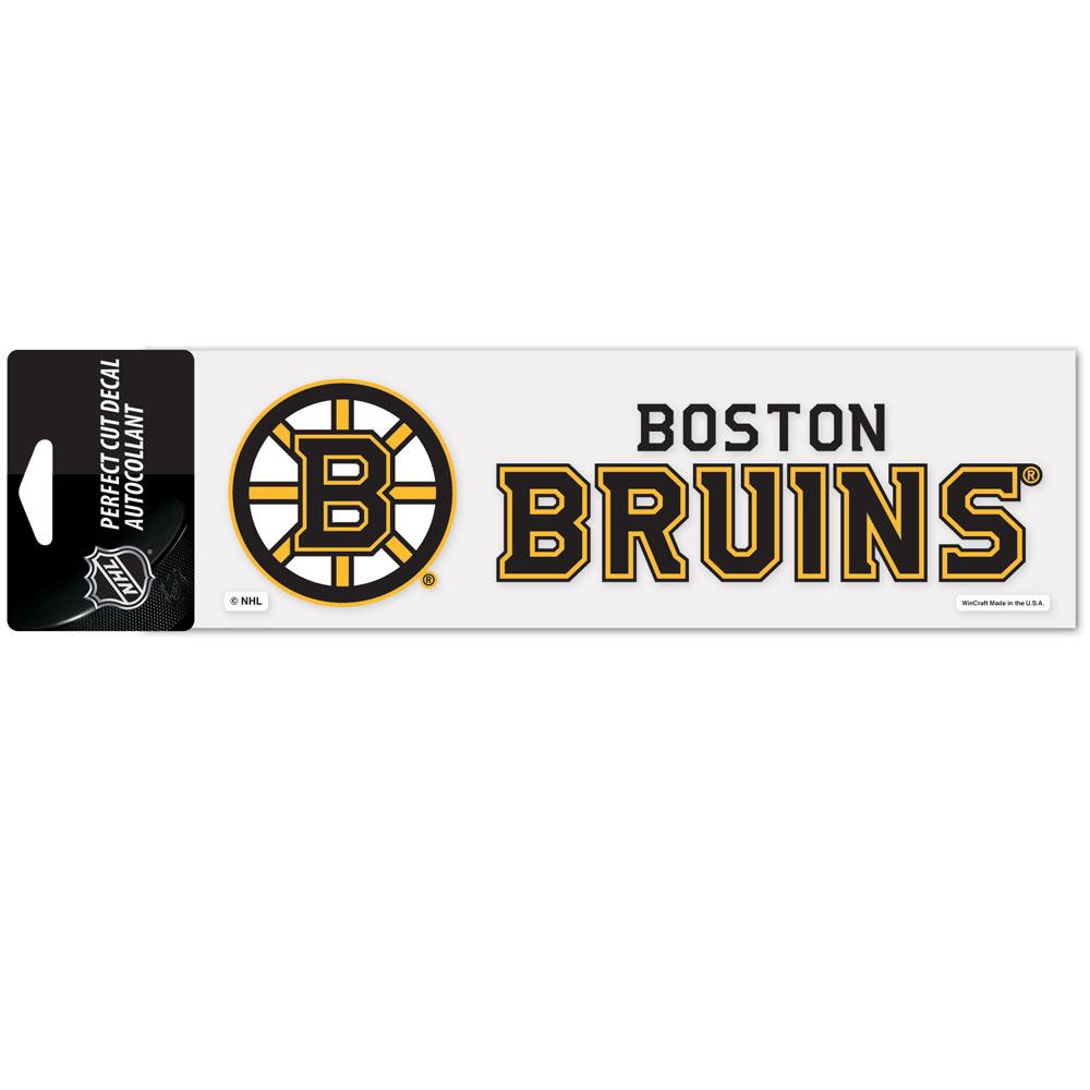Wincraft Aufkleber 8x25cm NHL Boston Bruins Weitere Wintersportarten Eishockey
