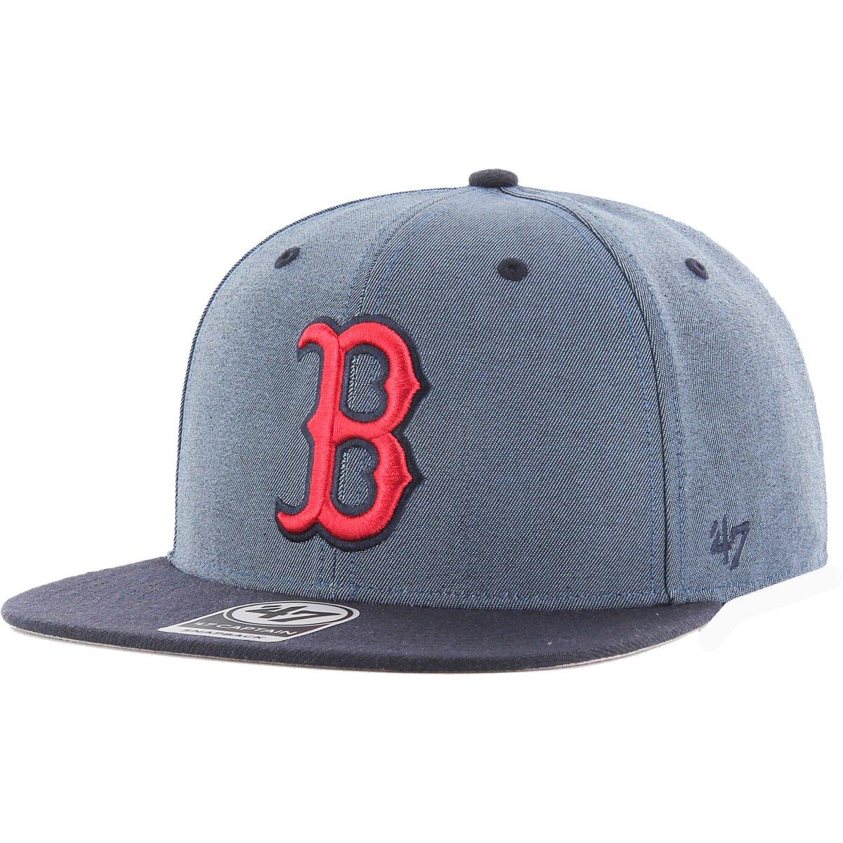 607fa7b8447 47 Brand Snapback Cap - DOUBLEMOVE Boston Red Sox navy