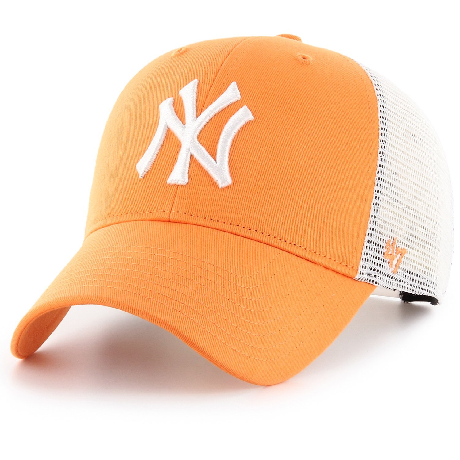 47 Brand Trucker Cap - FLAGSHIP New York Yankees mango 193234775193 ... 8ff6860999f