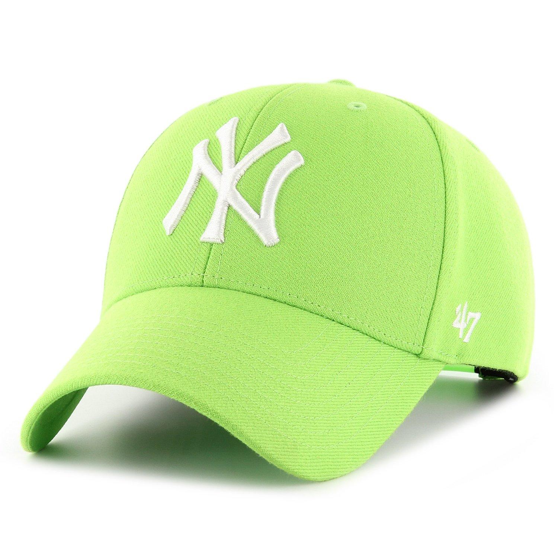new list performance sportswear latest discount 47 Brand Snapback Cap - MVP New York Yankees lime green ...