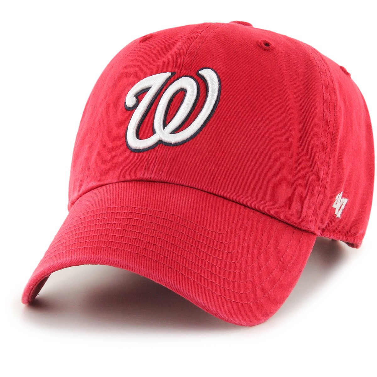 d0dcc98c7ff 47 Brand Relaxed Fit Cap - MLB Washington Nationals red 53838503144 ...