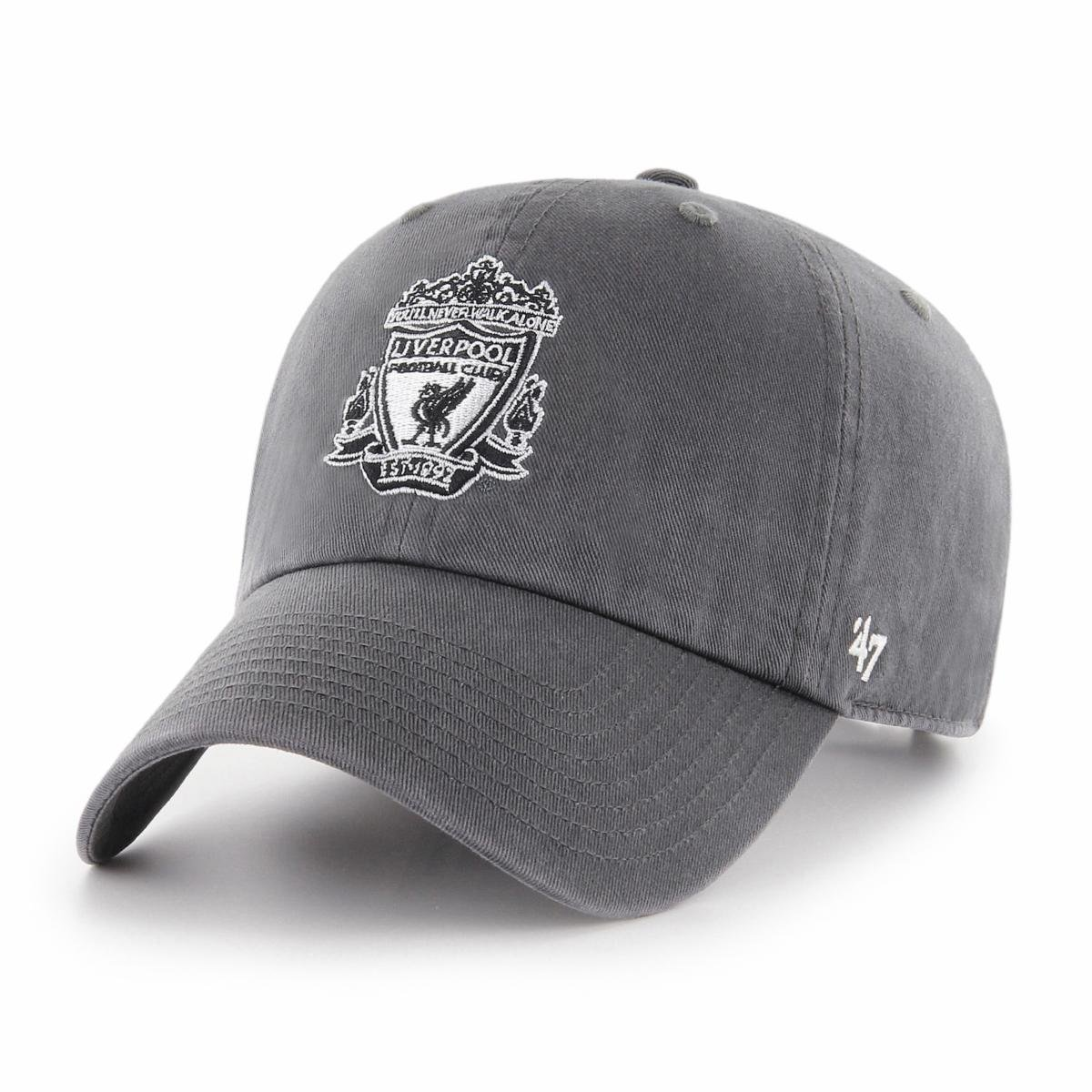 02b9219bd14 47 Brand Relaxed Fit Cap - FC Liverpool charcoal 889313869517