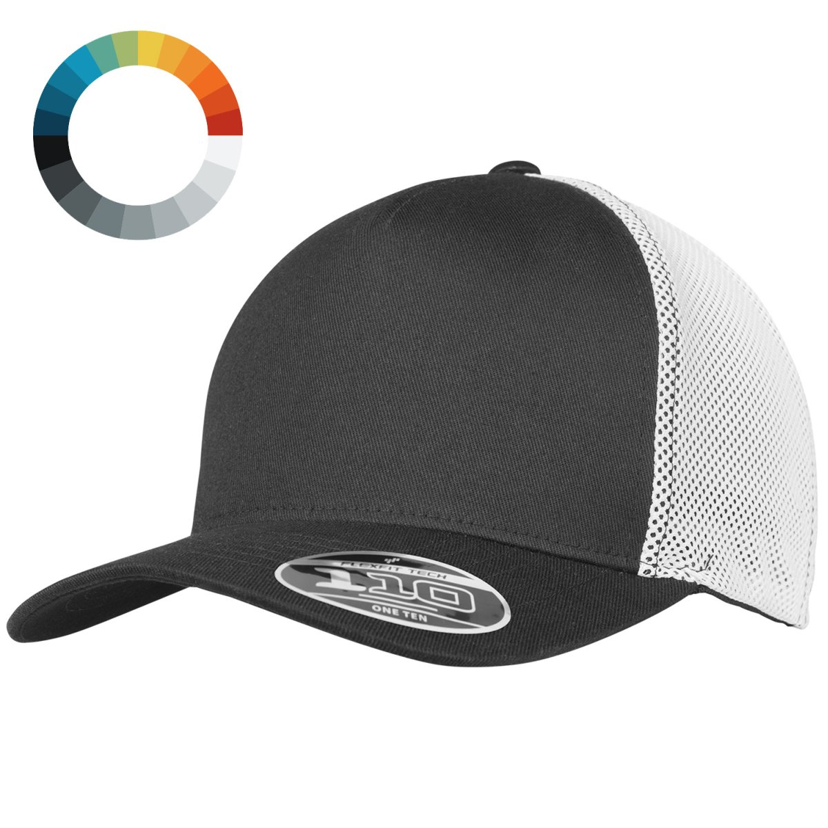 be103b71 Details about Flexfit Stretch Sports Fitness Pro-Formance 110 Mesh Cap -  One Size