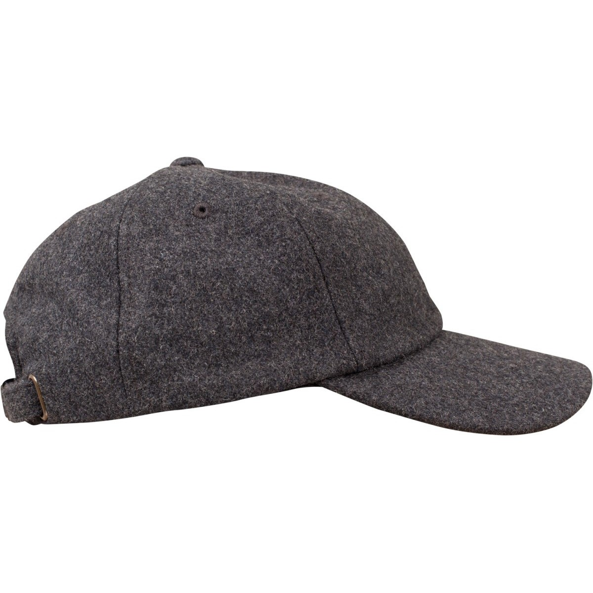 743bd0d4048fa Flexfit Low Profile Melton Wool Strapback Dad Cap - Grey. About this  product. Picture 1 of 5  Picture 2 of 5  Picture 3 of 5  Picture 4 of 5